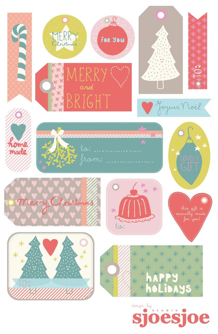 Print Your Own Gift Tags