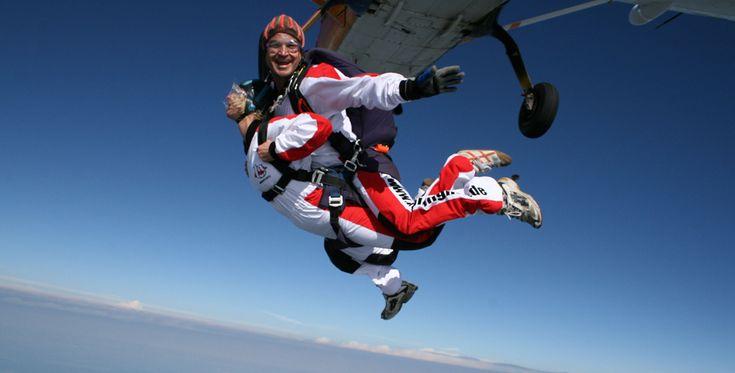#Fallschirm #Tandemsprung Radolfzell