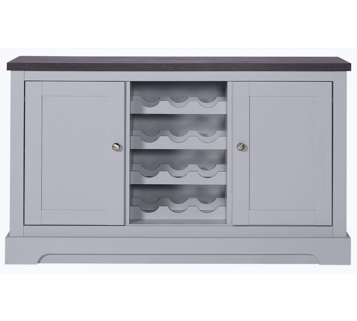 Buy Heart Of House Westbury 2 Dr Sideboard Wine Rack