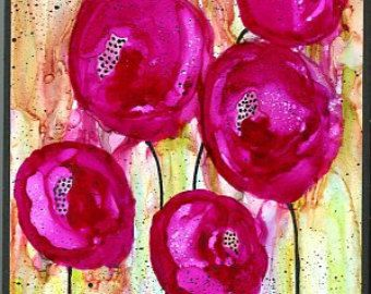 Alcohol ink painting grunge graffiti style by twocooltexans