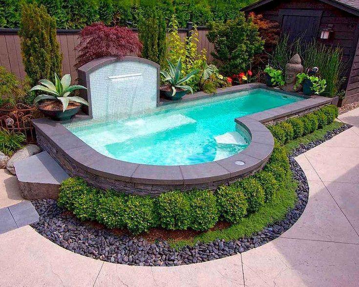 15 pequenas idéias de piscina de quintal que podem tornar sua casa legal   – Garden Design Ideas