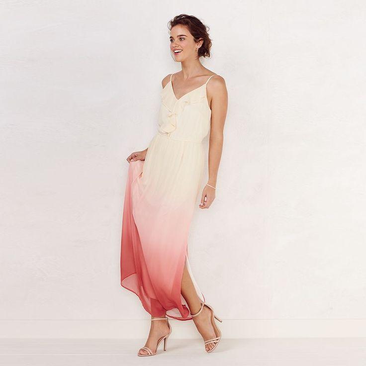 A l c maxi dress pockets