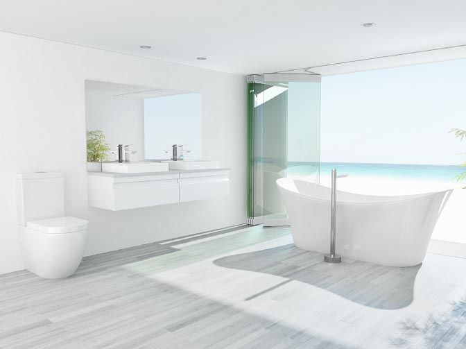 9 Best Contemporary Bathroom Images On Pinterest Bathroom Remodeling Bathroom Renovations And