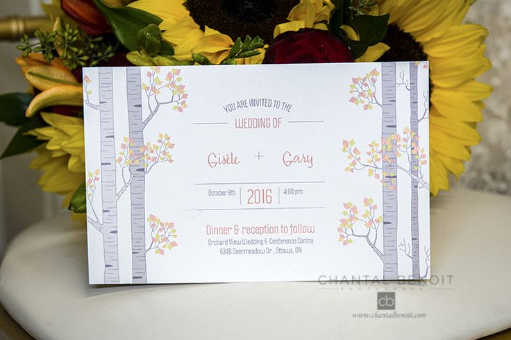 26 best ottawa wedding invitation images on pinterest ottawa fall wedding invitations ideas stopboris Gallery