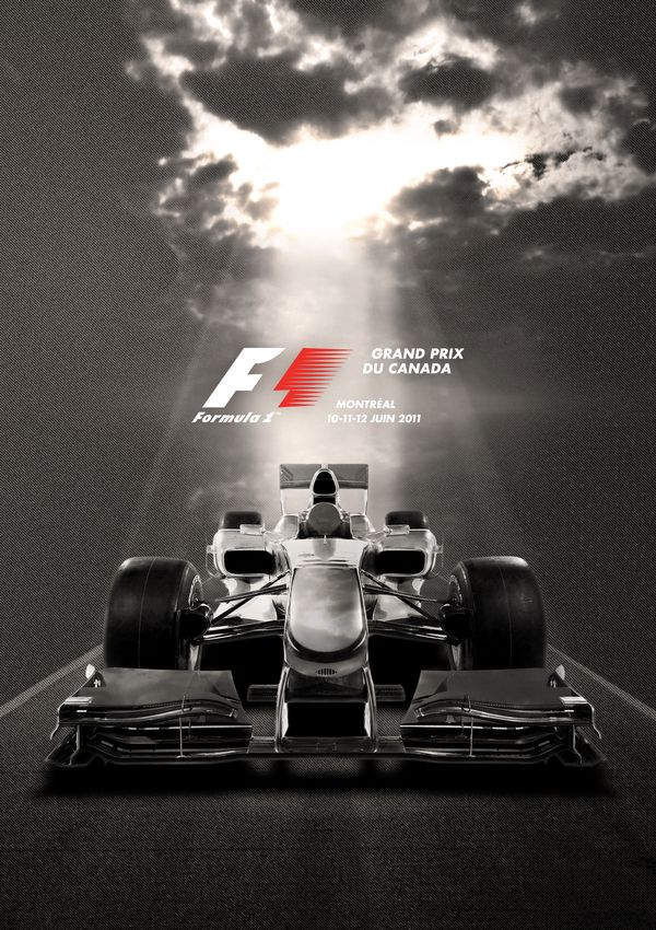 F1 Grand Prix du Canada 2011 by HPJ interactif, via Behance