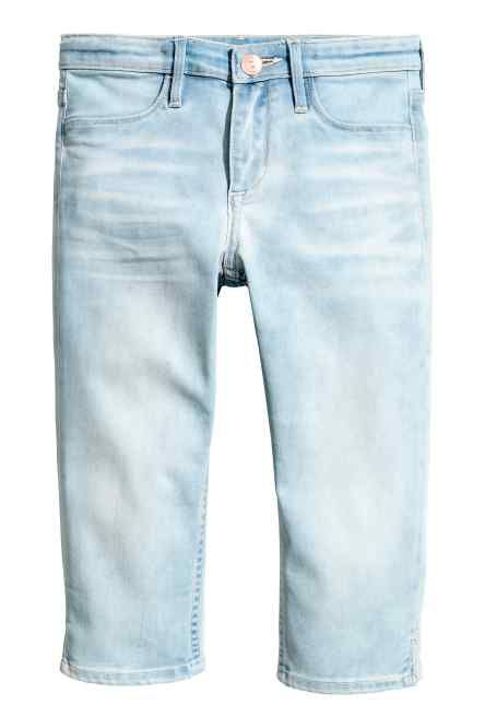 Skinny fit Capri Jeans