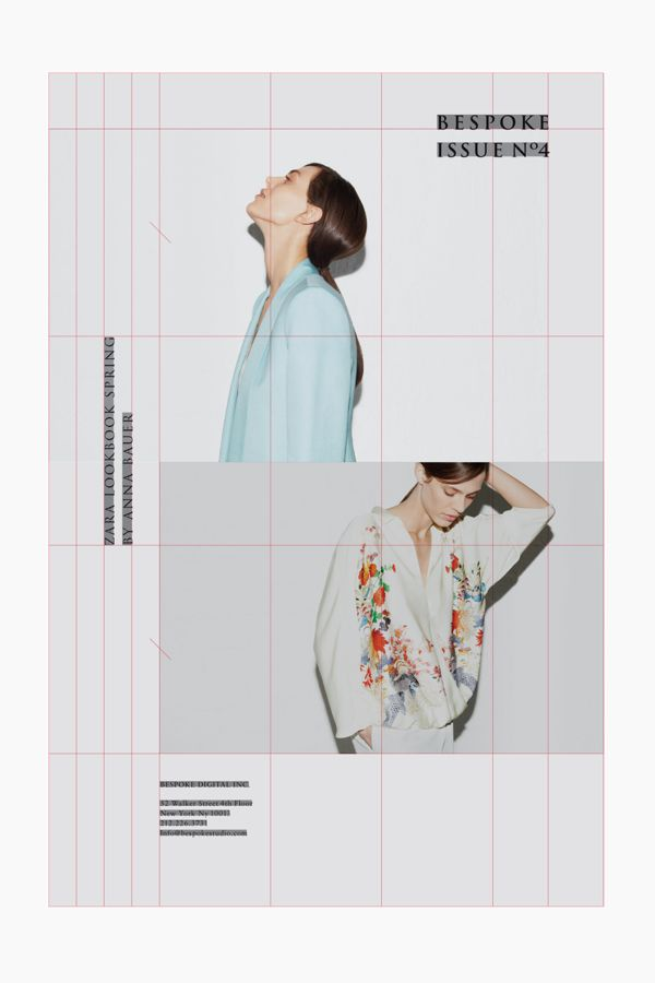 BESPOKE STUDIO, E-Newsletter Issue 4 by STUDIO NEWWORK. // ZARA