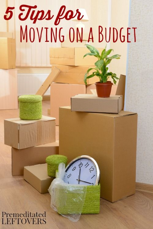 5 Tips for Moving on a Budget - Here are some tips for moving on a budget, including how to set a moving budget and how to save on moving supplies.
