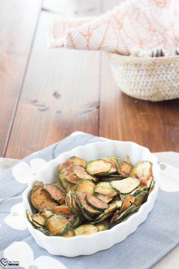 Chips di zucchine al forno cucina con le zucchine for Le migliori ricette di cucina