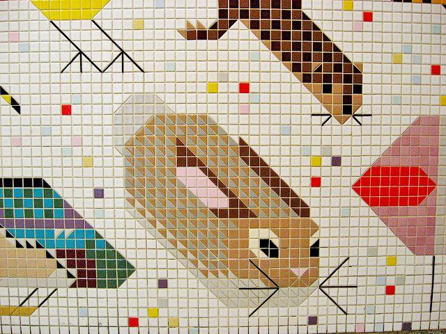 60 best images about art charley harper on pinterest for Charley harper mural cincinnati