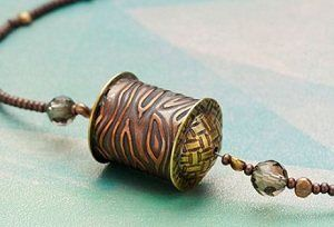 Copper Tube Bead tutorial by Kate Richbourg via Jewelry Making Daily