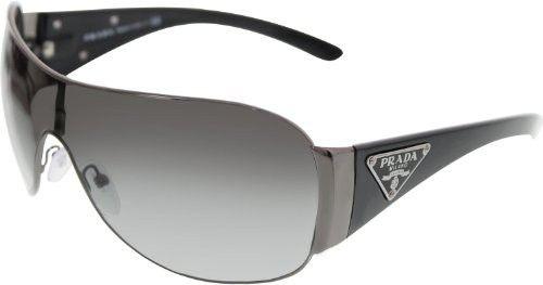 Prada PR57LS Sunglasses-5AV/3M1 Gunmetal (Gray Gradient Lens)-132mm | $513,683.03