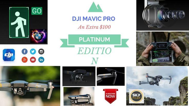 DJI MAVIC PLATINUM EDITION - Is it worth the extra $100 - EXPLAINED