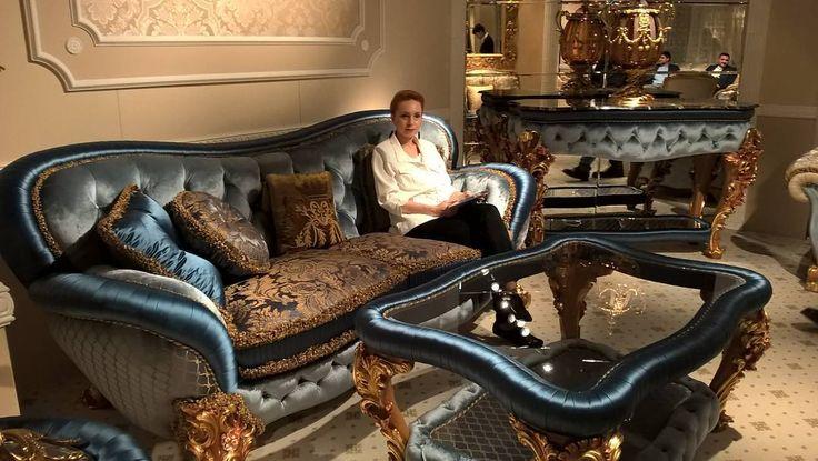 Кроме общего знакомства с новинками #ISaloni2016 у меня была вполне конкретная задача  подобрать мебель для текущих проектов. Особые требования были к мягкой мебели. Пришлось тестировать .... )) В итоге я присела на 624 дивана и кресла!  На этом фото фантастически роскошная мебель коллекции TURANDOT  фабрики  Egidio Lunardelli считающегося самым известным производителем диванов в Италии с полувековой историей. После моего знакомства с этой мебелью самим Эджидио и его сыном Дарио продолжающим…