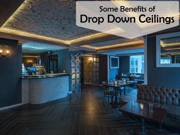Benefits of Drop Down Ceilings
