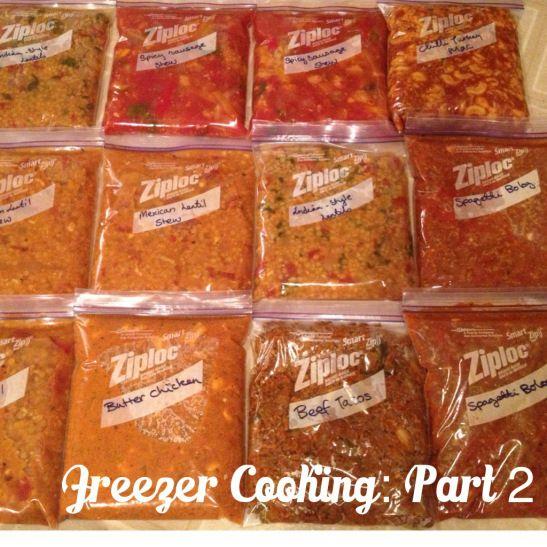 Freezer Cooking Recipes!