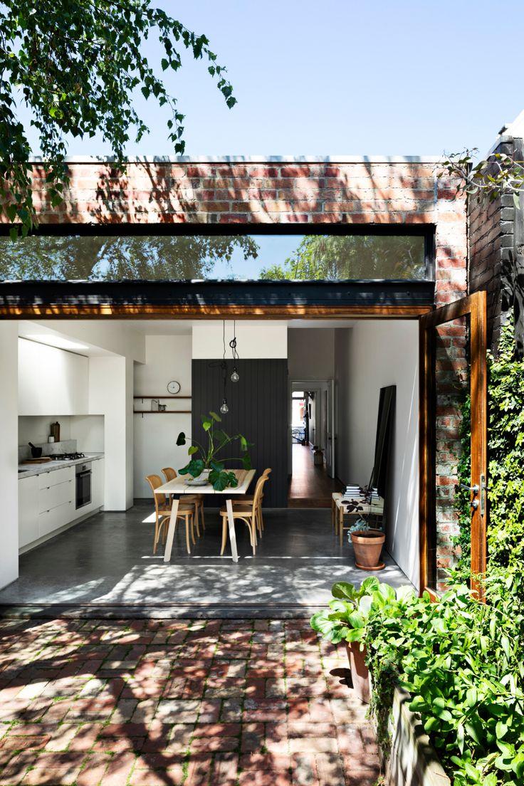 Combining the Kitchen and the Garden An IndoorOutdoor