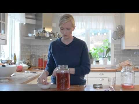 Lag kombucha med Gry Hammer - YouTube