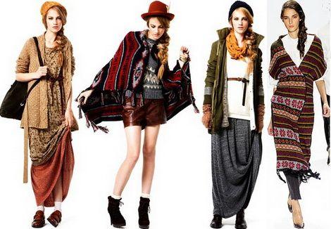 Варианты нарядов в этно-стиле