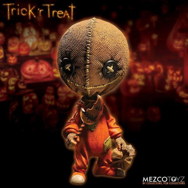 "Trick 'R Treat Stylized 6"" Sam Vinyl Figure From Mezco"