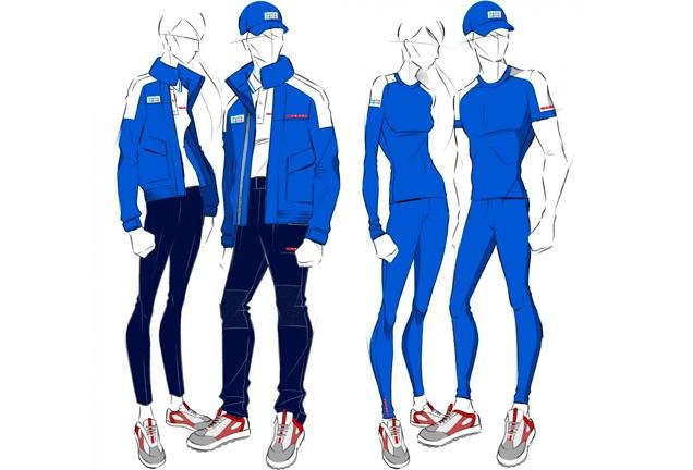Italy by Prada, London 2012  http://ffw.com.br/noticias/moda/olimpiadas-2012-veja-os-uniformes-%E2%80%9Cde-grife%E2%80%9D-dos-jogos-de-londres/#