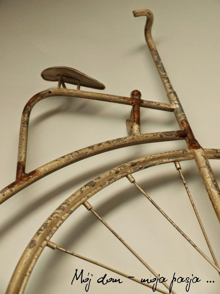 loft, industrial, decor, home decor, old bike