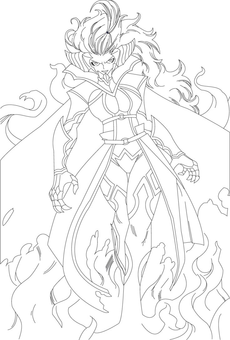Fairy Tail Mirajane Strauss Lineart Ch 279 By