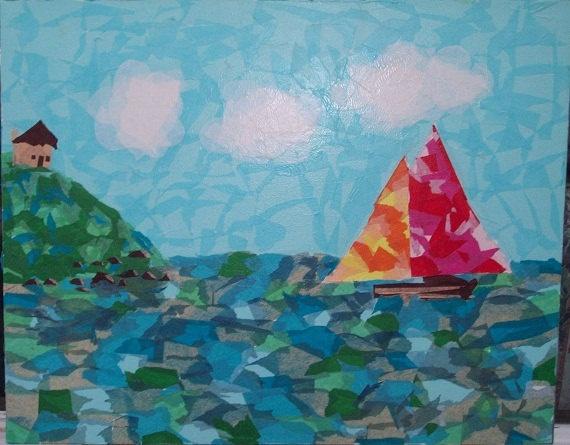 Tutorial : Tissue paper craft, part 2