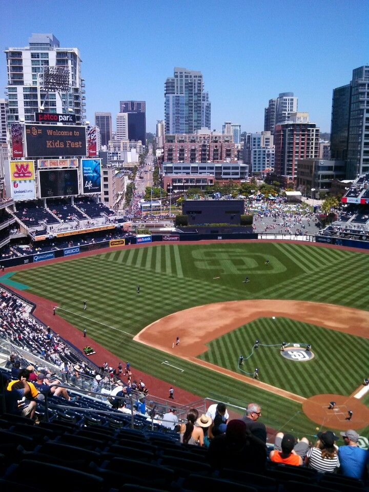 Petco Park, one of the nicest in baseball. In an even nicer city! It's a long time coming, but it's gonna be a good time at the park this season for Padres fans!