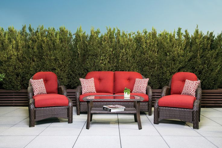 La Z Boy Outdoor Avondale Seating Collection Canadian