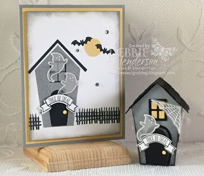Debbie's Designs: Home Sweet Home for Halloween!
