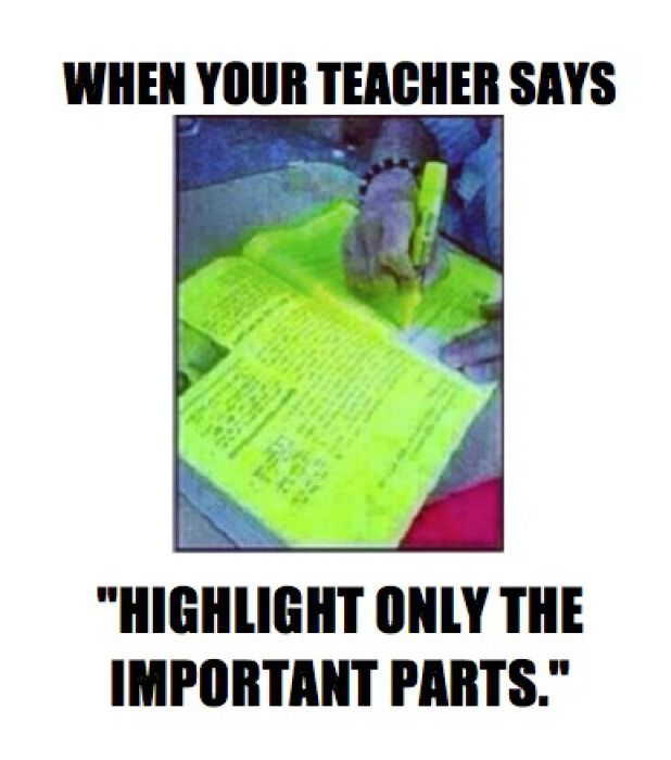 School Memes 101 | Cambio Photo Gallery