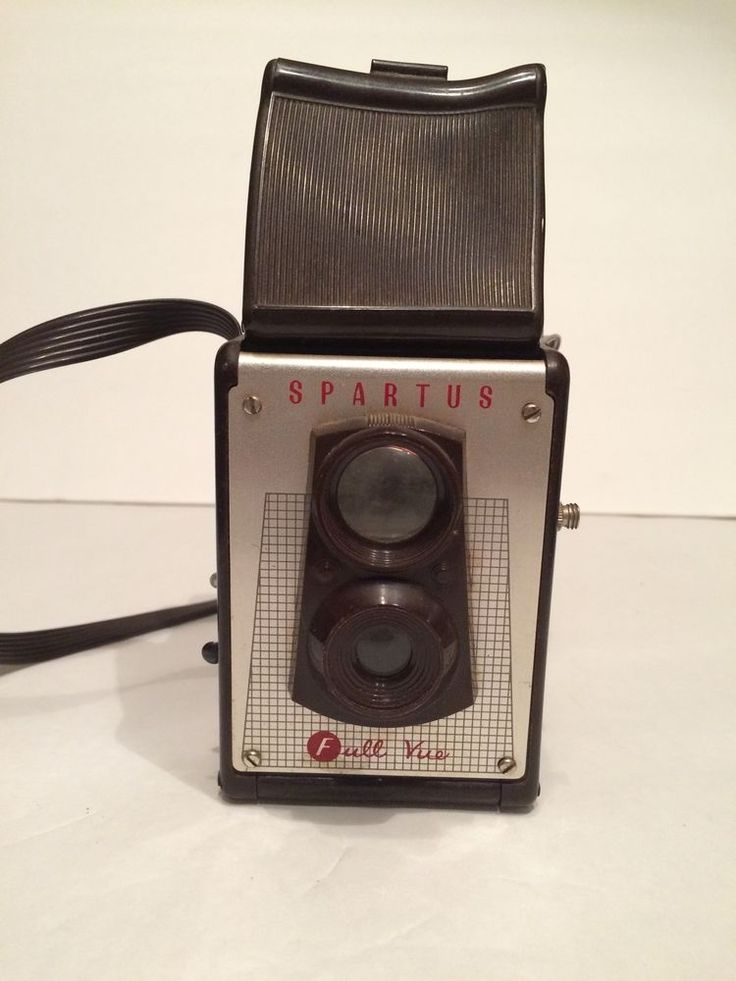 SPARTUS FULL-VUE TWIN LENS REFLEX CAMERA, WAIST LEVEL VIEWFINDER  | eBay