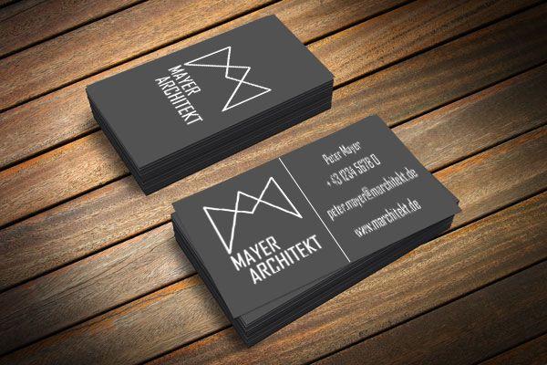 Architekt business card