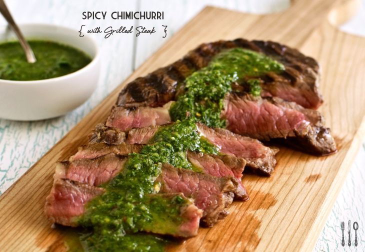 grilled-steak-with-spicy-chimichurri-sauce/