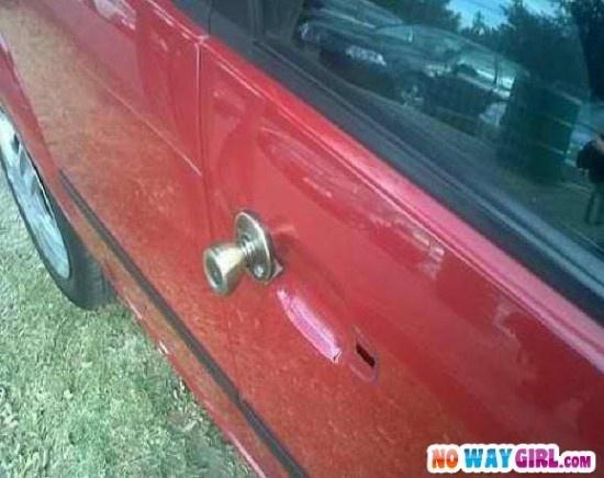 redneck door handle