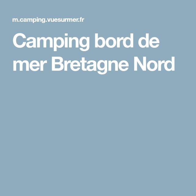Camping bord de mer Bretagne Nord