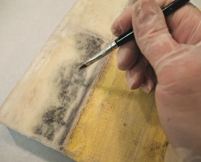 ^Learn about photo encaustic techniques