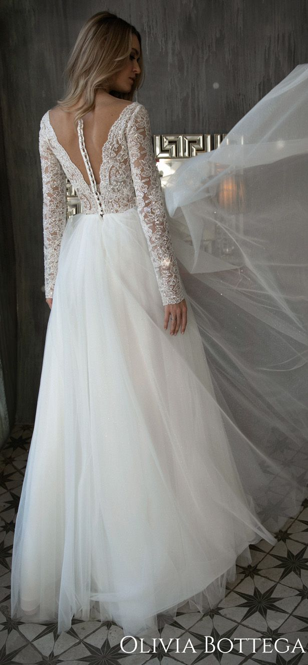 Olivia Bottega Wedding Dresses Belle The Magazine Wedding Dresses Sparkly Wedding Dress Country Wedding Dresses [ 1326 x 615 Pixel ]