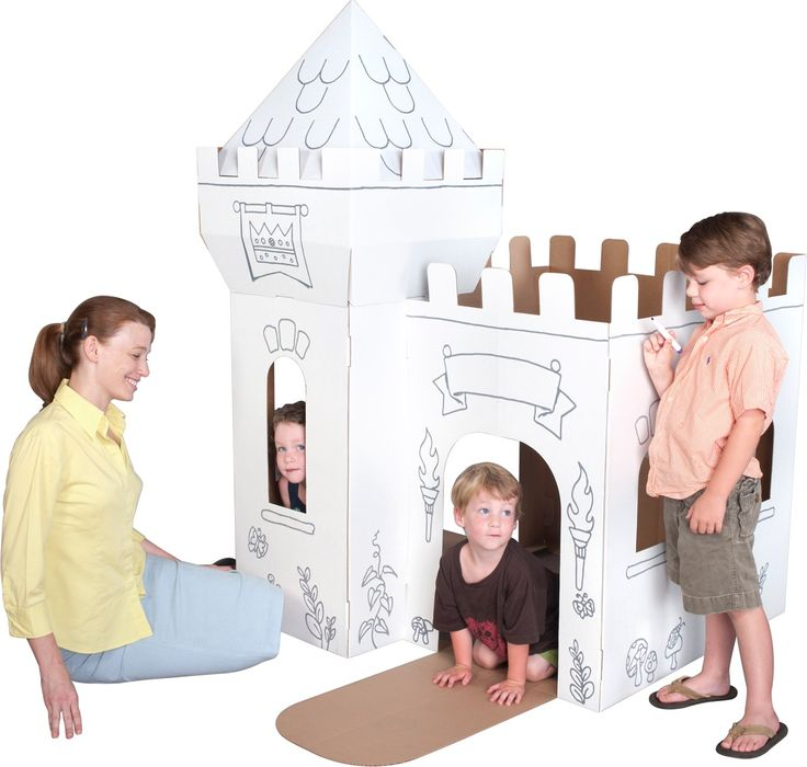 11 best Box Creations Cardboard Playhouses images on Pinterest ...