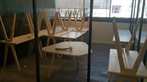 Mesa Olivia, Mesa Cafe, Opendesk- Joni & David Steiner, Impact Hub Mexico City