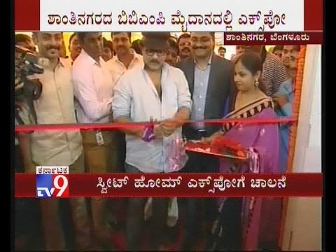 V Ravichandran Inaugurated 'Sweet Home' Real Estate Expo-2015, Shubha Po...