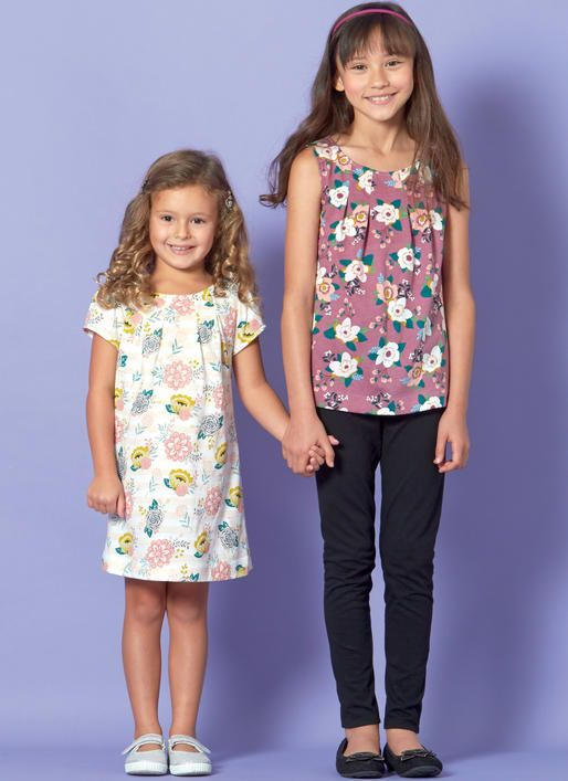 340976110aefa0 McCall s M7709 Children s Girls  Tops