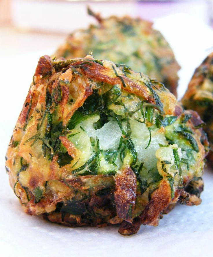 Turkish Zucchini Fritters  #cooking #recipe