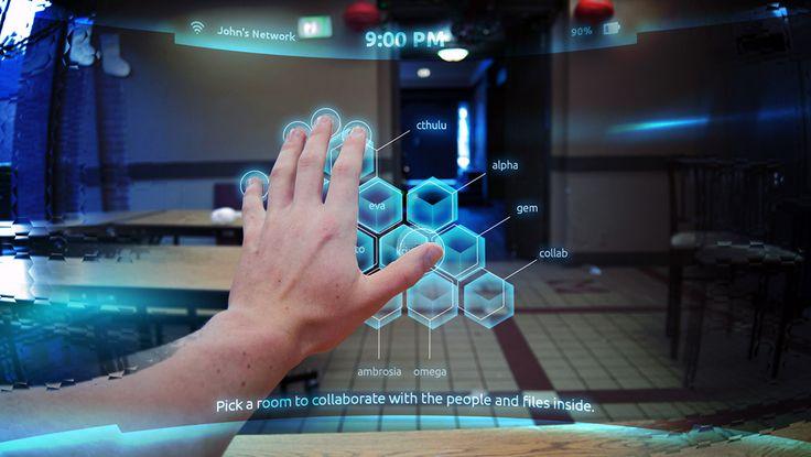 Esempio di Augmented reality user interface. http://virtualmentis.altervista.org/