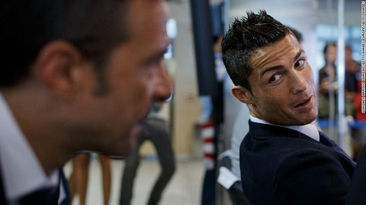 Jorge Mendes, Ronaldo's agent, has been ranked the most powerful soccer agent in the world