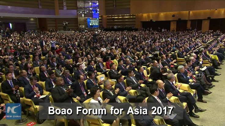 Asian countries have been active participants in and remained committed to globalization and free trade. Chinese Vice Premier Zhang Gaoli says this when delivering a keynote speech at the 2017 annual conference of the Boao Forum for Asia, held in China's Hainan Province.
