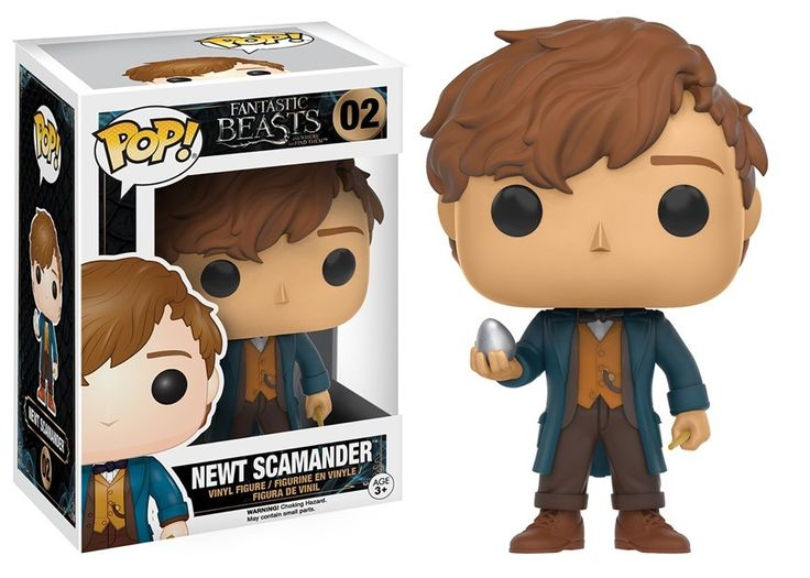 Newt Schmander Funko Pop! from Fantastic Beasts and Where to Find Them