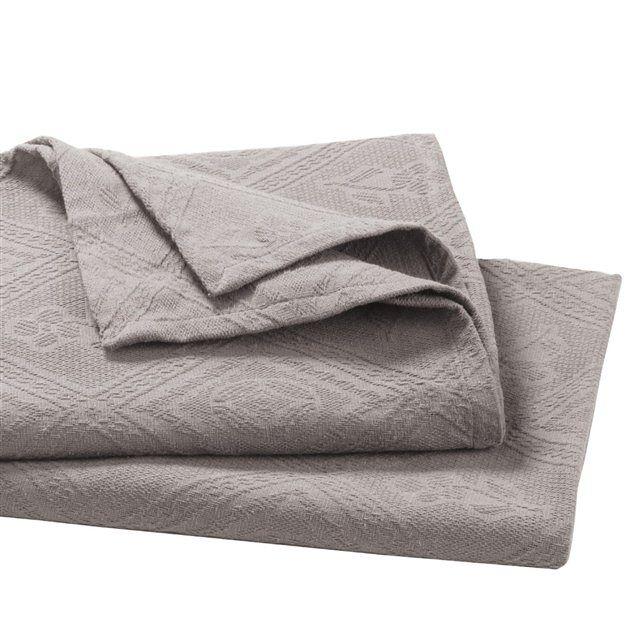 Jacquard Cotton Piqué Bedspread
