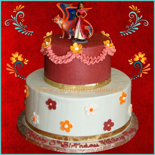 Tier Elena Of Avalor Birthday Cake